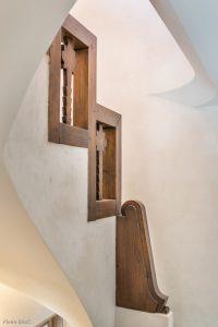 Montée escalier-Chalet Megève-Pierre Brac