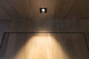 Plafond éclairage-Chalet Megève-Pierre Brac
