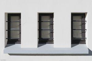 Détail fenêtre extérieure-Chalet Megève-Pierre Brac