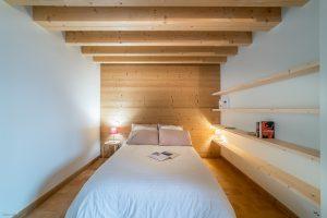 Chalet Burzier-chambre-Pierre Brac