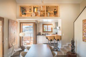 Appartement chalet Praz-sur-Arly- Séjour-Pierre Brac