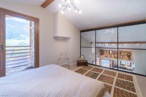 Appartement chalet Praz-sur-Arly- Chambre-Pierre Brac