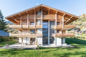 Appartement chalet Praz-sur-Arly- Extérieur-Pierre Brac