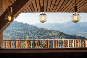 Elia Kuhn Photographe Tema-lumière panorama chalet Saint-Gervais-les-Bains