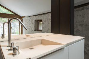 Elia Kuhn photographe Chalet la Villette Salle de bain