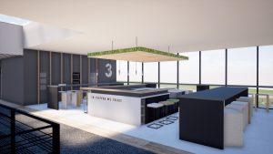 Image 3D-Bureaux Chavanod-Morgane Claudon TEMA-cafétéria