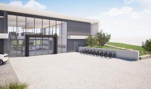 Image 3D-Bureaux Chavanod-Morgane Claudon TEMA-accueil parking