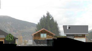 10-Esquisse Chalet double- Les Contamines-Montjoie Tema Architectes