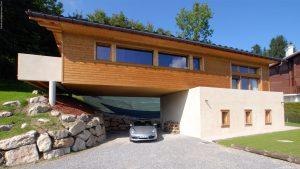 1-Chalet panoramique Saint-Gervais les Bains - Tema Architectes