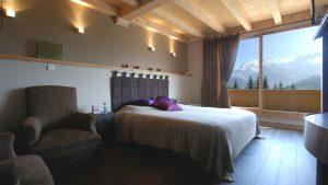 8-Chalet panoramique Chambre Saint-Gervais les Bains - Tema Architectes
