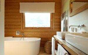 07-Salle de bain Chalet Les Contamines-Montjoie Tema Architectes