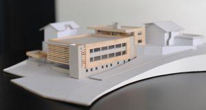 02-Maquette MFR Le Belvédère Sallanches Tema Architectes