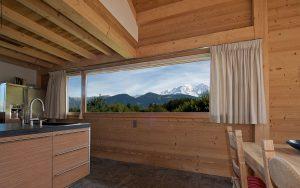 12-Vue Mont-Blanc intérieur Guest House Domancy Tema Architectes