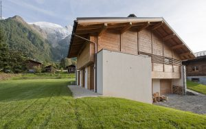 03-Façade Nord Chalet Les Houches Tema Architectes