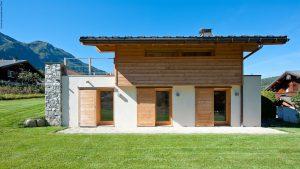 05-Façade Est Chalet Les Houches Tema Architectes