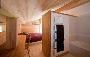 06-Salle de bain suite parentale Chalet Les Houches Tema Architectes