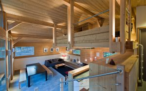 11-Vue salon Chalet Les Houches Tema Architectes