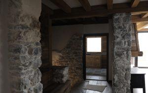 21-Palier salon Maison forte rénovée Passy Tema Architectes
