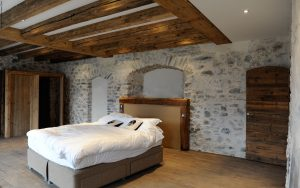 23-Chambre Maison forte rénovée Passy Tema Architectes