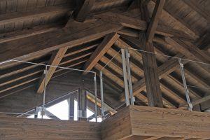 13-Mezzanine Maison forte rénovée Passy Tema Architectes