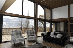 17-Salon Maison forte rénovée Passy Tema Architectes