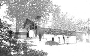 02-Perspective Chalet Saint-Nicolas de Véroce-Tema Architectes