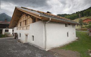 07-Façade Nord Chalet Saint-Nicolas de Véroce-Tema Architectes