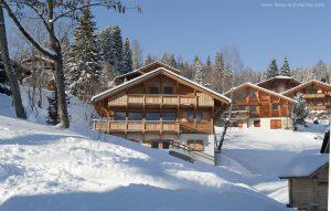 01-Extérieur jour neige Chalet Saint-Gervais-les-Bains Tema Architectes