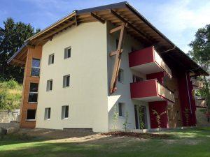 01-Extérieur Collectif Les Myosotis logements sociaux Passy-Tema Architectes