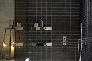 10-Douche mosaïque Spa wellness Megève Tema Architectes