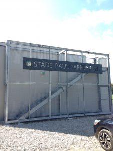 05-Entrée stade Paul Tapponnier Vestiaires Collonges-sous-Salève-Tema Architectes