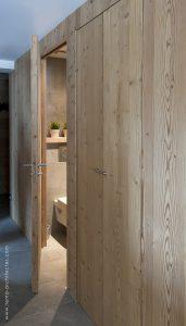 04-Entrée WC Appartement Les Contamines-Montjoie - Tema Architectes