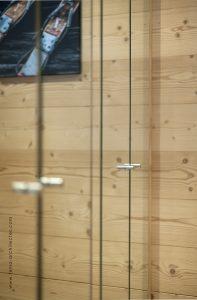 12-Placard miroir Appartement Les Contamines-Montjoie - Tema Architectes