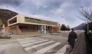 01-Vue 3D atelier Mont Blanc Agencement Sallanches Tema Architectes