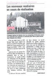 09-Article Le Dauphiné Vestiaires Collonges-sous-Salève-Tema Architectes