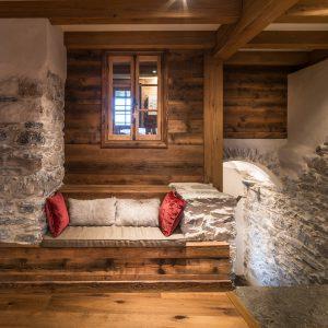 28-Banquette Maison forte rénovée Passy Tema Architectes