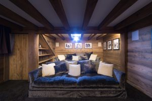 33-Home cinéma Maison forte rénovée Passy Tema Architectes
