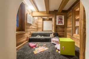 34-Salle de jeux Maison forte rénovée Passy Tema Architectes