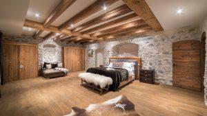 35-Chambre master Maison forte rénovée Passy Tema Architectes