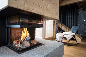 Elia-kuhn-Cuisine et salon-5-chalet Saint-Gervais les Bains